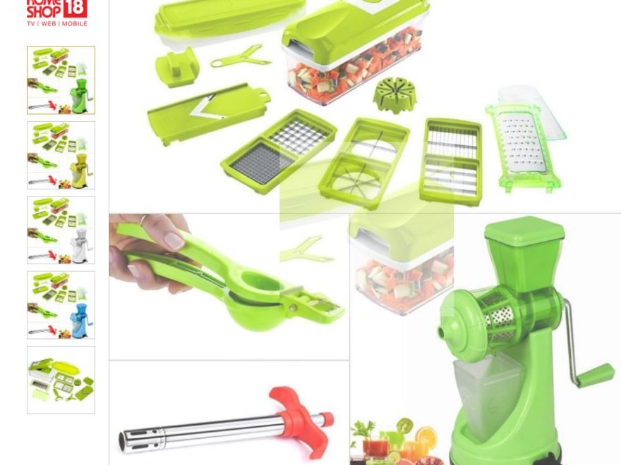 Chop and Dicer & Juicer Combo with Lemon Squeezer cum Bottle Opener & Gas Lighter