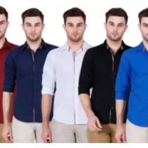 Pack Of 5 Casual Shirts